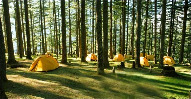 Camping is a popular adventure sport in Pabbar Valley