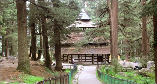 Hidimba Temple is a famous tourist spot in Manali