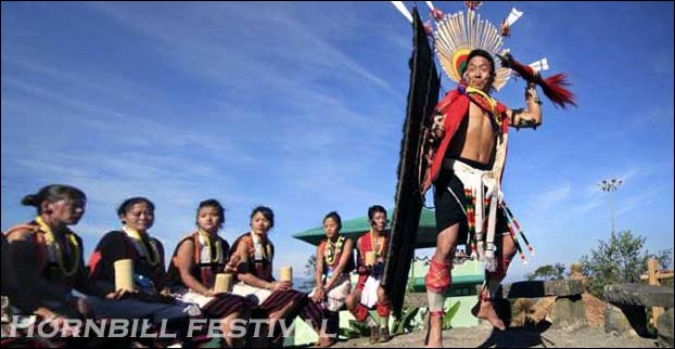 Hornbill festival is your chance to witness the collaborative celebration of all Naga tribes at one place.