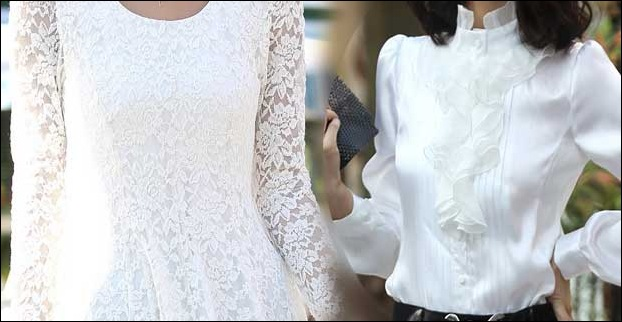 Lace Shirts for women continue to be in fashion this year as well