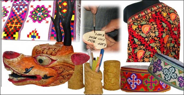 Shopping for clothes and Handicrafts of Manali