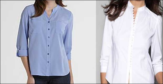 Mandarin Shirts are perfect for Office meetings !