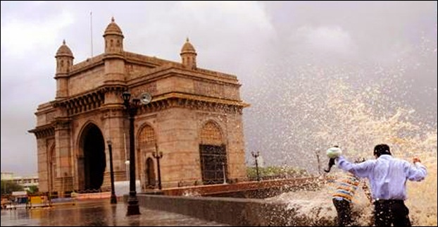 Gateway of India in Rainy Season