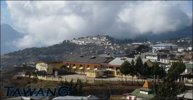 Tawang is a beutiful hill station in Arunachal Pradesh , India