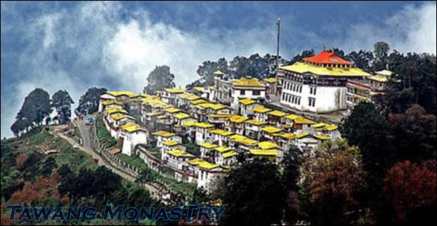 Tawang Monastry is the  2nd biggest Buddhist monastry in the world