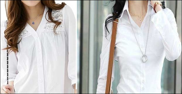 White Blouse Shirt is evergreen in fashion