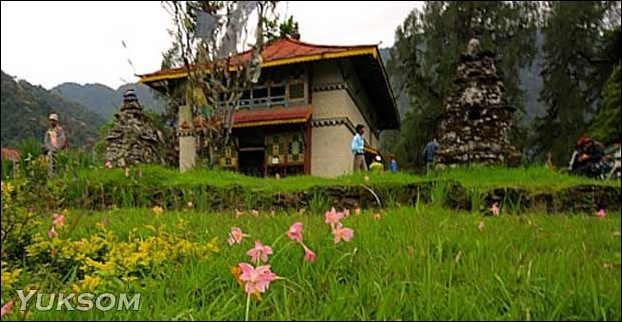 Yuksom in Sikkim is a honeymooners paradise.
