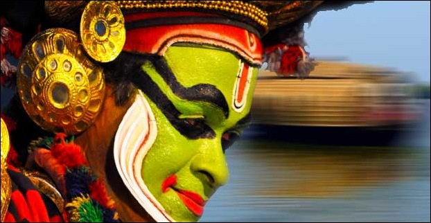 The traditional dance form 'Kathakali' is quite popular among visitors