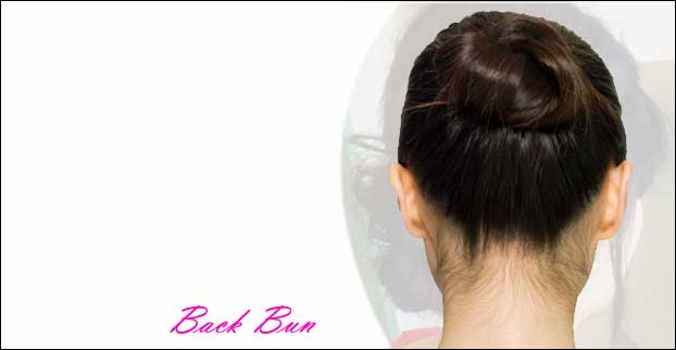 Back Bun Hairstyle
