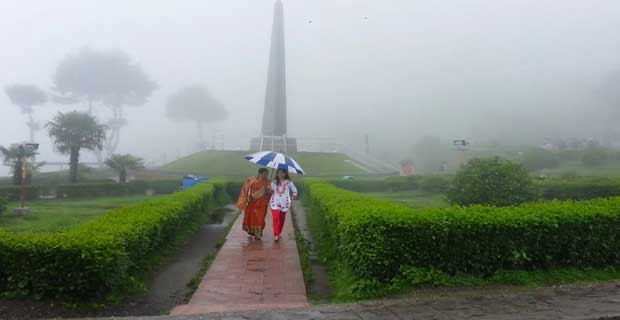 Batasia Loop in Darjeeling