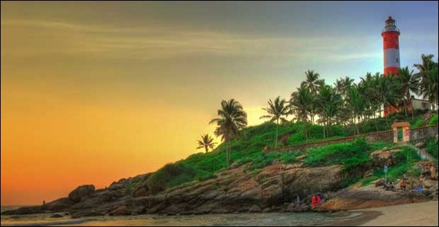 The beaches of Kerala