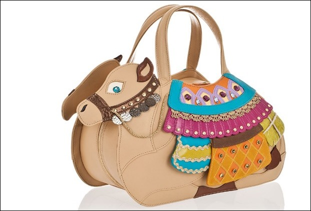 Camel Shaped Handbag
