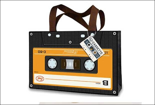 Cassette Shaped Handbag