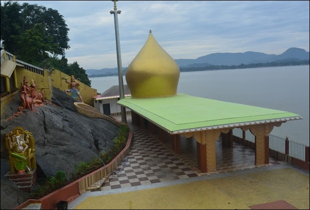 Viewpoint of Chakreshwar Temple