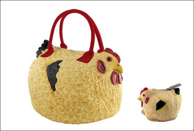 Chicken Shaped Handbag