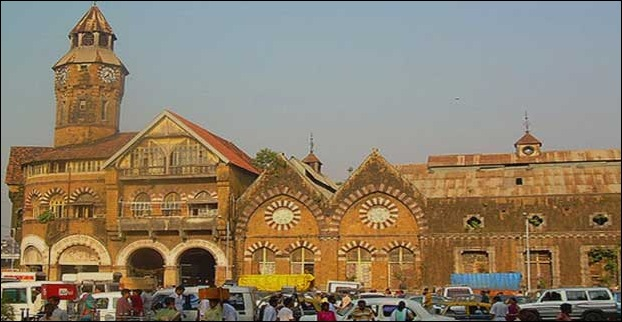 The famous Crawford Market in Mumbai