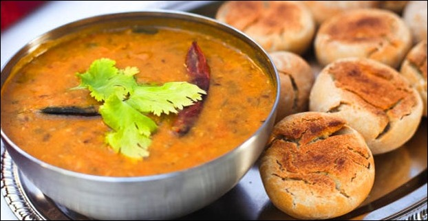 Udaipur is also a place to enjoy the iconic Rajathani dish called 'Daal Baati Churma'