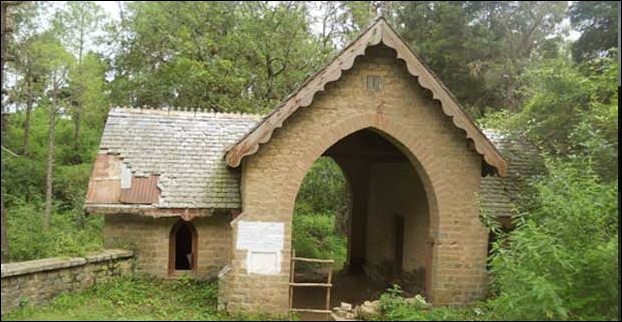 Old Cemetry at Dagshai in Kasauli