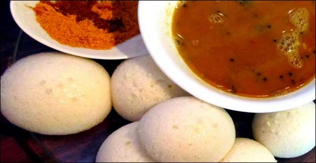 With Dosa and Idli being popular here it is more like East meets South