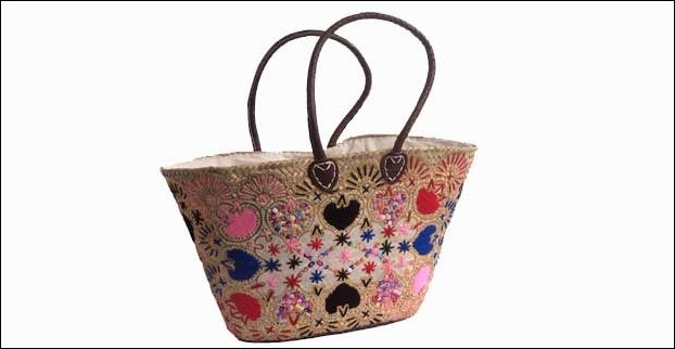 Embroidered basket style bags go best with ethnic wear