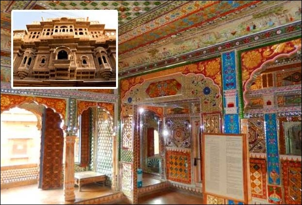 Among prominent Haveli's of Rajasthan Nathmal's Haveli dintinct