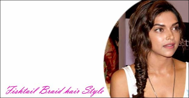 Fish Tail Braid Hairstyle by a bollywood celebrity