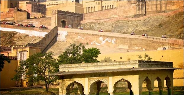 Fort of Amer in Rajasthan