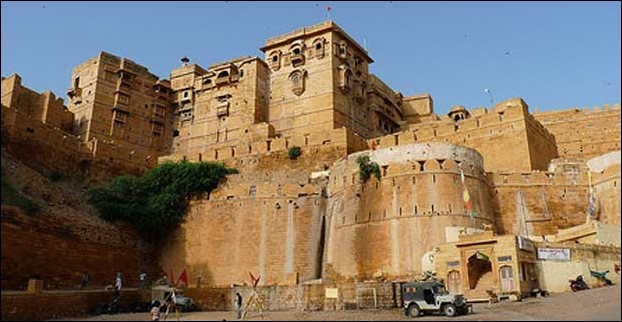 Fort of Jaisalmer in Rajasthan
