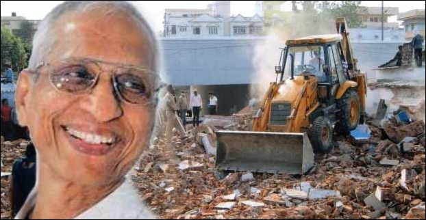 GR Khairnar aka the demolition man waged a war against illegal contructions in Mumbai