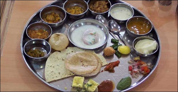 It gives you a chance to taste the famous Gujarati Thali