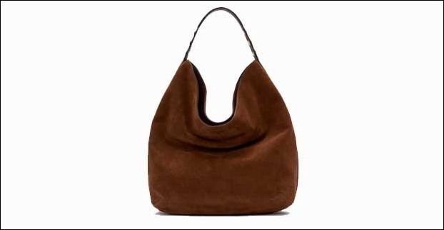 Hobo handbags have large and crescent shape