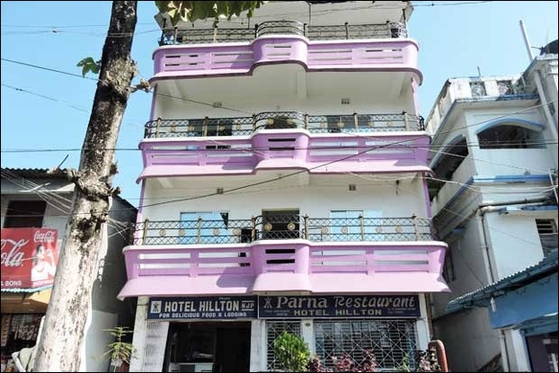 Hotel Hilton is nearest stay located just outside the NJP railway station