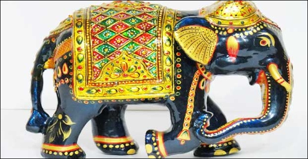 Meenakari is a popular handicraft in Rajasthan