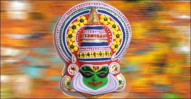 Kathakali Mask is a typical buy from Kerala