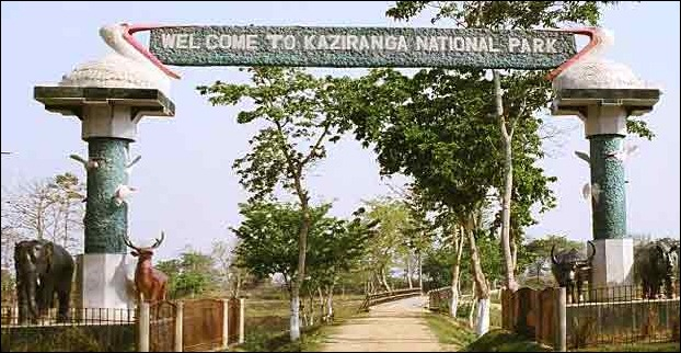 Kaziranga National Park Entrance
