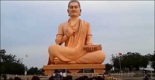 The 12th century philosopher Basava's Statue