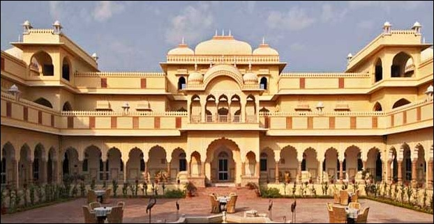 Fort of Nahargarh in Rajasthan