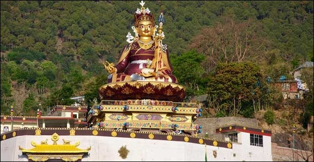 Padmasambhava Statue at Himachal is 123 feet high
