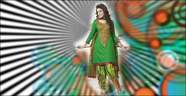 Printed Salwar is also an option for work place.