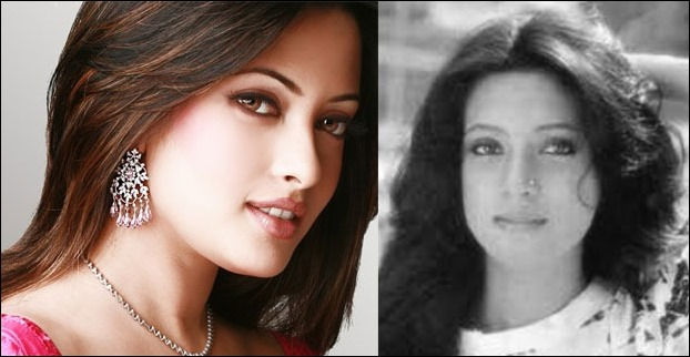 Moon Moon Sen is a recognized name while Riya Sen could not get as much success