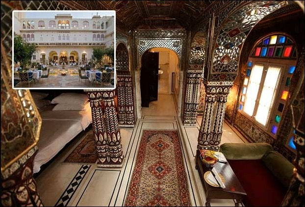 Among famous Haveli's of Rajasthan Samode Haveli stands dintinct