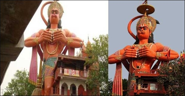 The Sankat Mochan Dham is another tallest hanumaan statue located at New Delhi in India