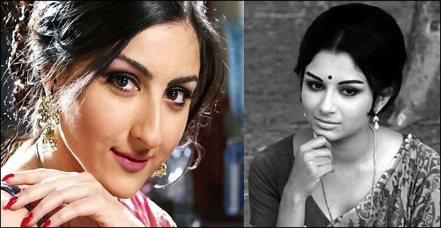 Sharmila Tagore was a super hit actress while Soha is not