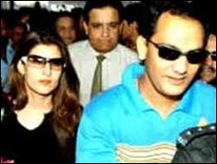 Azhar divorced his wife Naureen to marry Sangeeta Bijlani