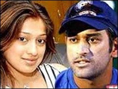 Dhoni and lakshmi Rai