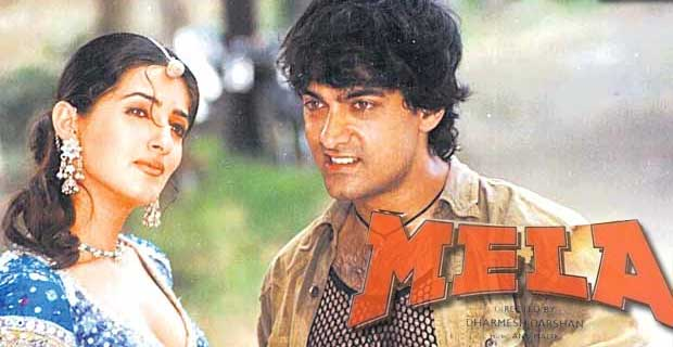 Faisal Khan , the brother of Amir Acted in Mela