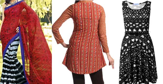 Tribal Fashion In sarees and other Indian outfits