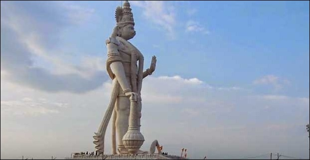 World's tallest Lord Hanuman Statue