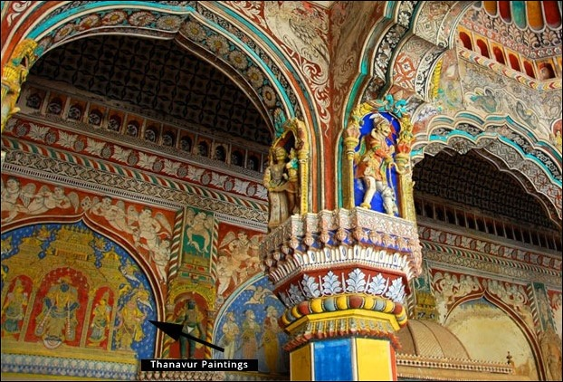 Chola Kings decorated their Palaces with Tanjore Paintings