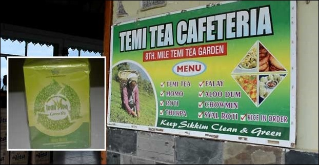 Temi Tea Garden is the only tea garden of the state and so its organic tea has its own importance